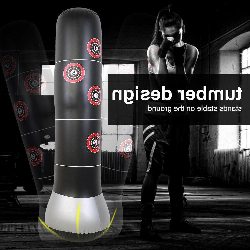Inflatable Punching Kick Training Bag for