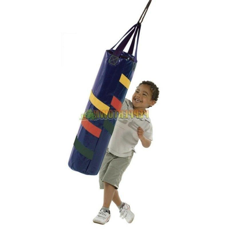 kids boxing bag playground cubbyhouse fort refillable