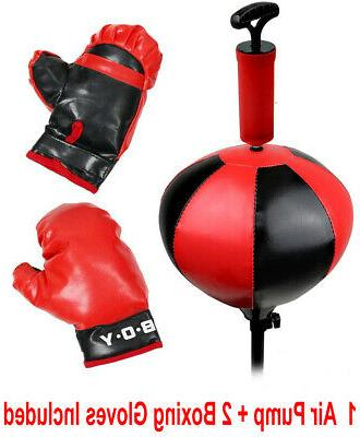 Kids Gloves Stand Exercise Inflatable