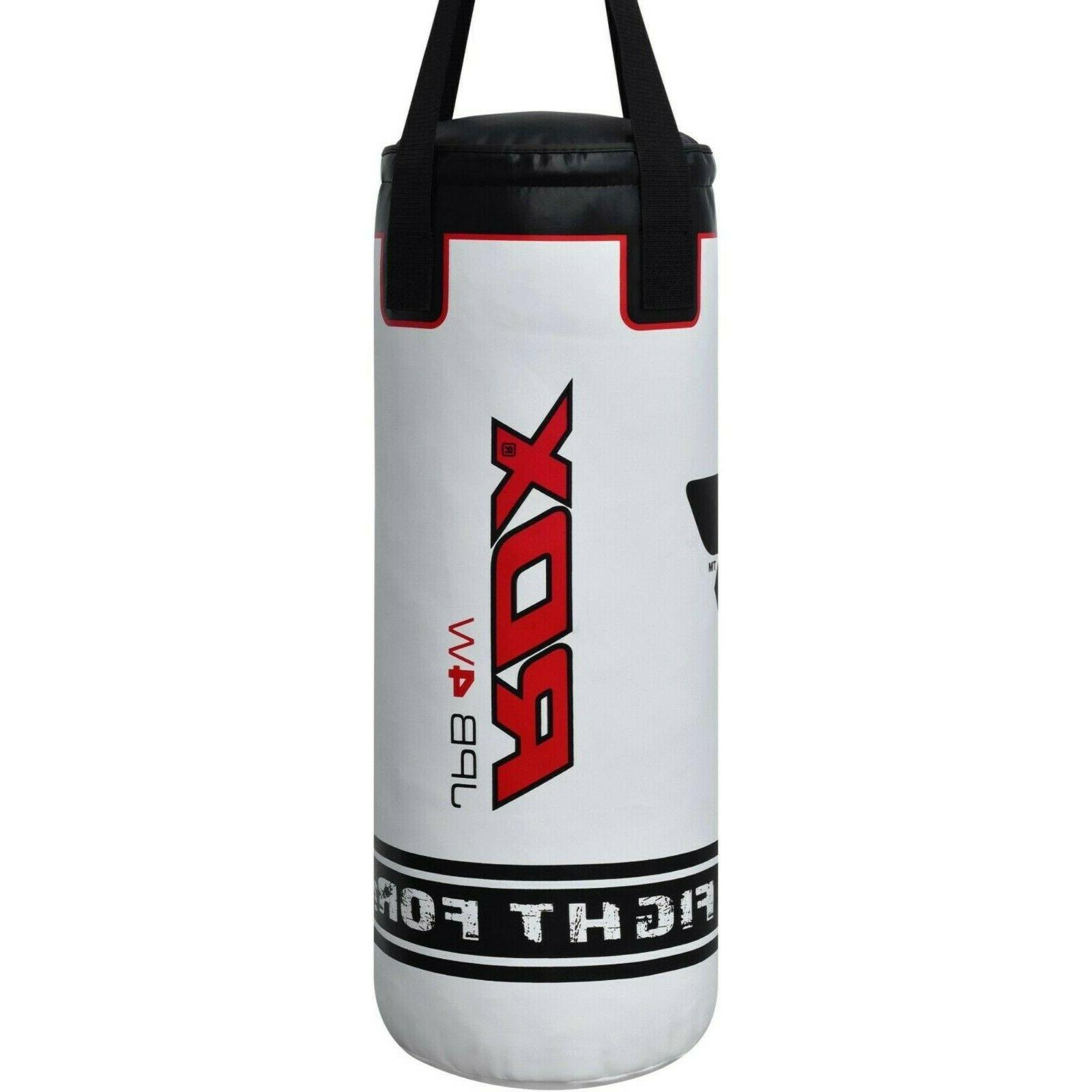 Kids Bag Unfilled Gloves Boxing Training MMA Kick