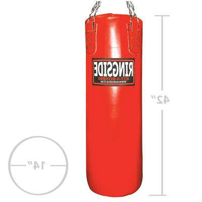 Ringside Leather 100 lb. Heavy Bag - Filled