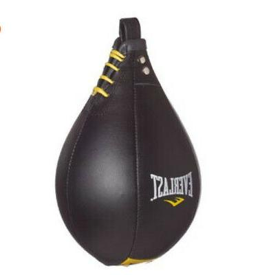 leather elite speed bag boxing mma workout