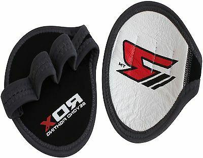 RDX Leather Neoprene Weight Lifting Grips Training Gym Strap
