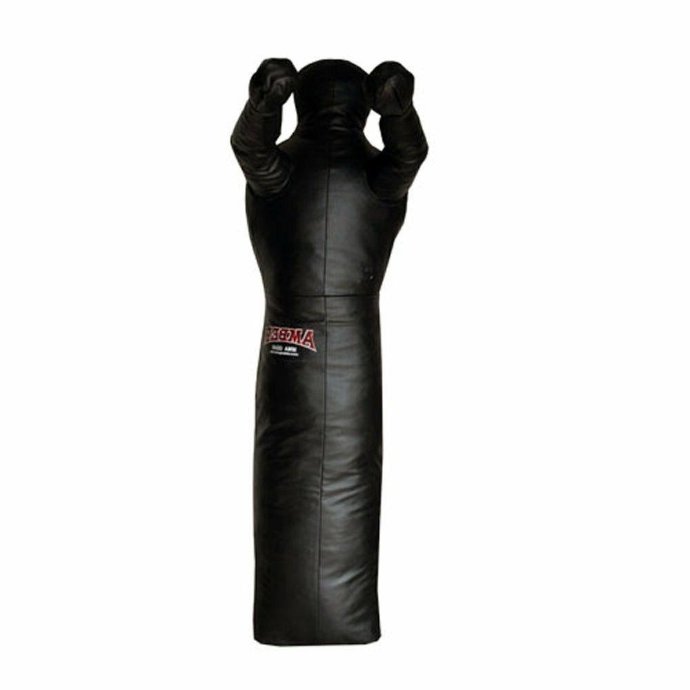 mma filled grappling dummy standing without legs