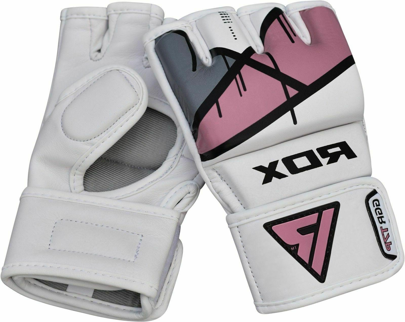 RDX MMA Gloves Women Grappling Sparring Punching Ladies Fighting US