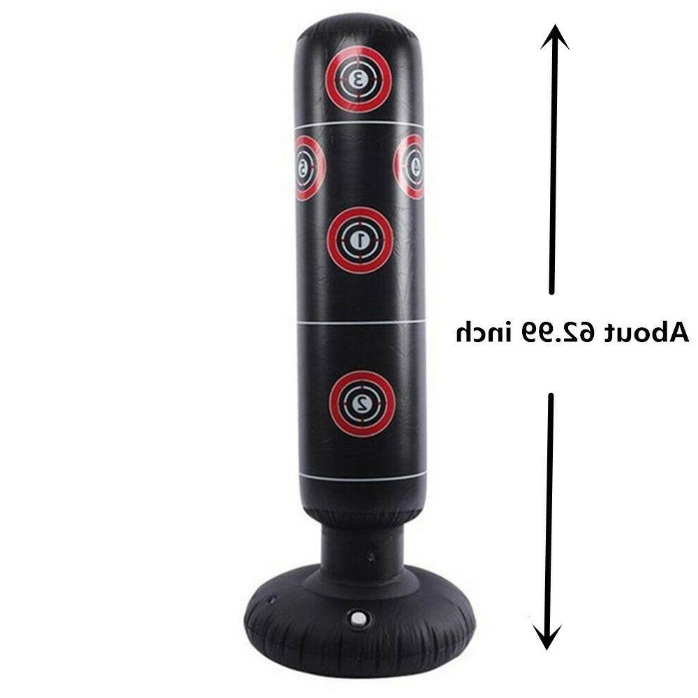 NEW Standing Punching Bag Boxing Cardio Kickboxing MMA Fitness