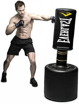 NEW Everlast PowerCore Free Standing Heavy Bag Kick Boxing Punch Cardio MMA