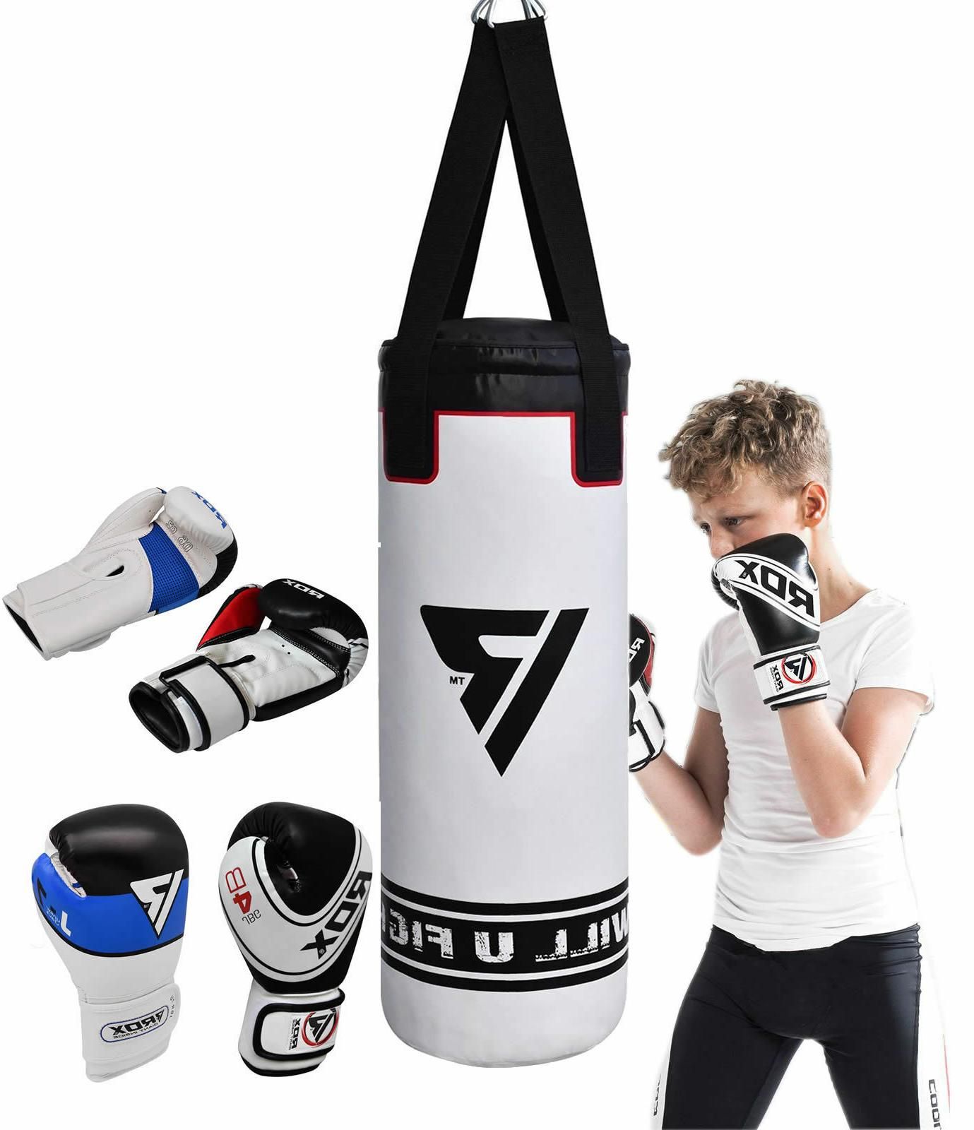 RDX Filled Punch Gloves Training Gym