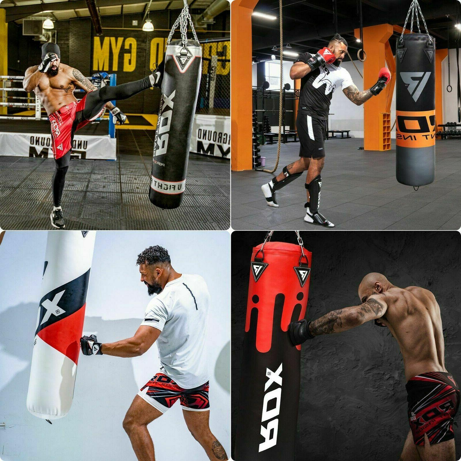 RDX Bag Punch Unfilled Gloves MMA Heavy