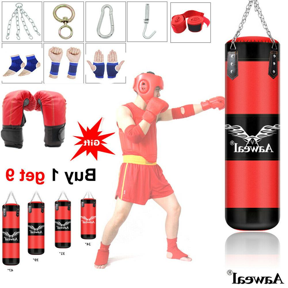 punching bag heavy boxing training gloves speed