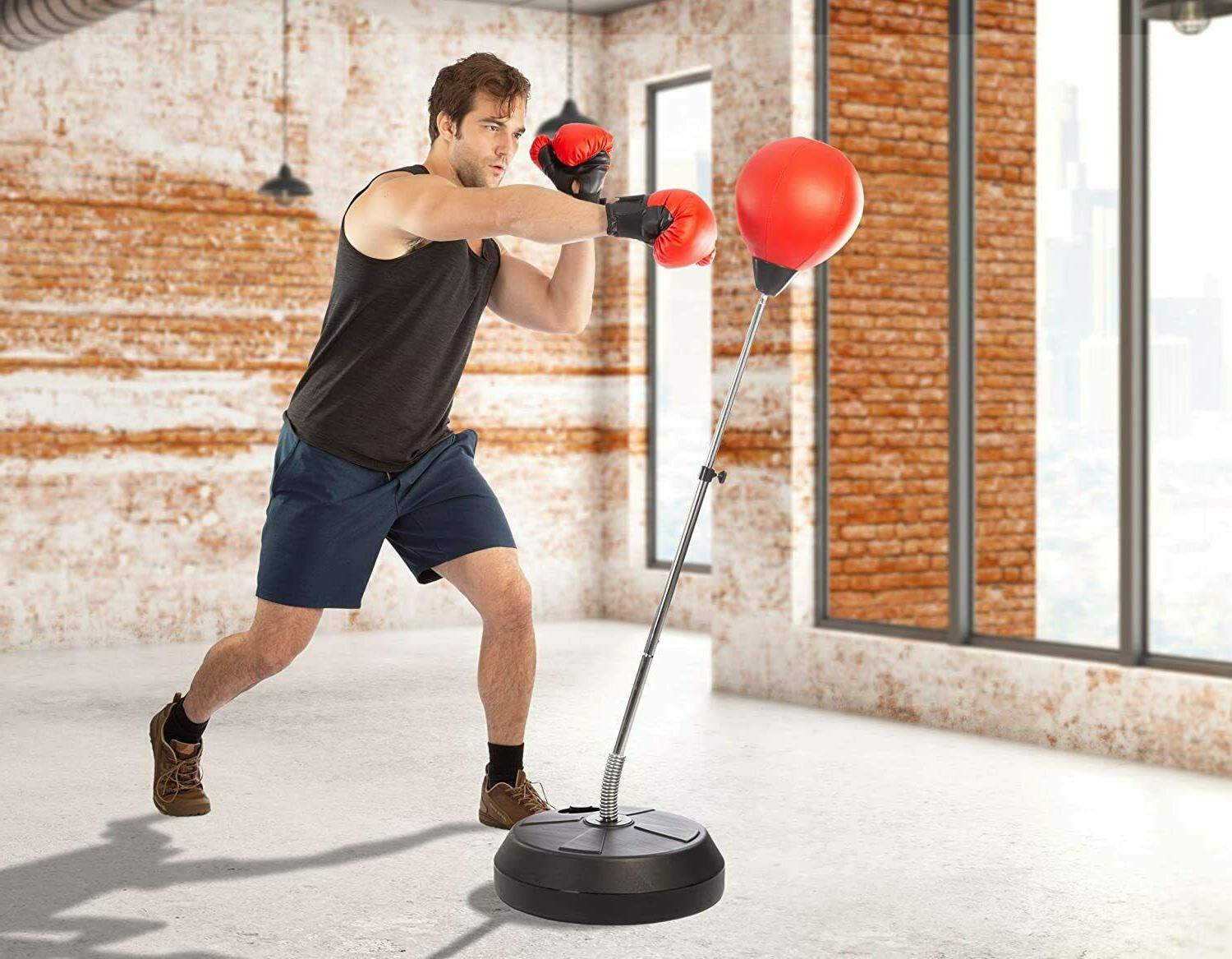 Punching Boxing with Stand, Punch Speed Ball