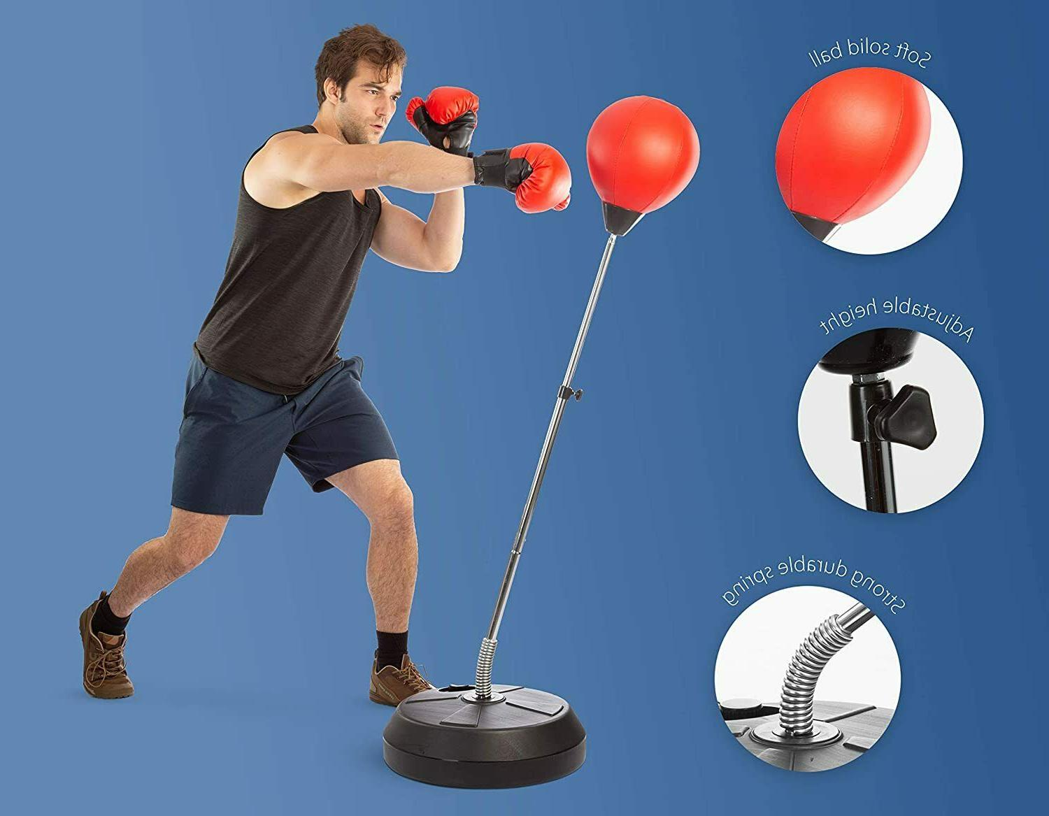 Punching Reflex Boxing Bag with Stand, Punch