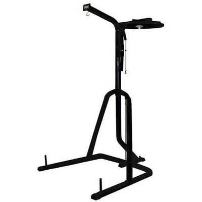 three station heavy duty punching bag stand