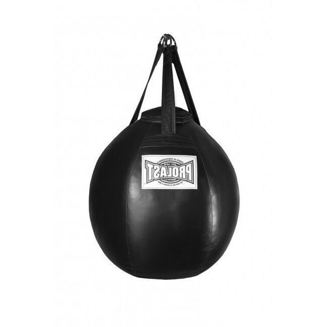 unfilled wrecking ball heavy punching bag boxing