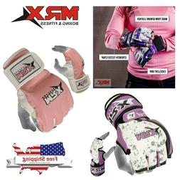 Ladies MMA Grappling Gloves Women Boxing Training Punch Bag