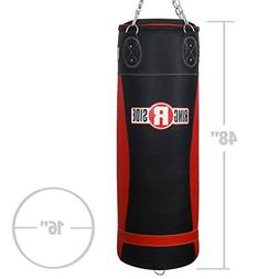 Ringside Large Leather 100, 130 and 150 lb Heavy Bag