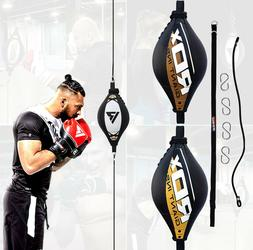 RDX Leather Double End Dodge Speed Ball Boxing Floor To Ceil