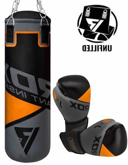RDX Leather Punching Bag Kids Boxing Heavy Kids Gloves Fille