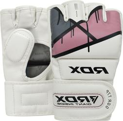 RDX MMA Gloves Women Grappling Sparring Punching Bag Ladies