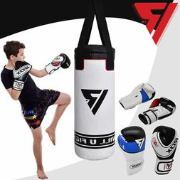 RDX Punching Bag Boxing Filled Punch Junior Gloves Training