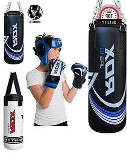 Punching Bag MMA Gear for Kid With Hanging Chain and Glove D