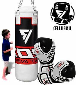 RDX Punching Bag Set Training Junior Boxing Gloves Children