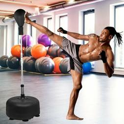 Punching Reflex Boxing Bag with Stand, Adjustable Freestandi