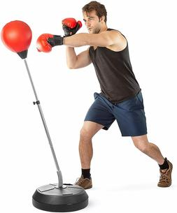 punching reflex boxing bag with stand adjustable