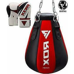 RDX Punching Bag Boxing Unfilled Heavy Kickboxing MMA Maize