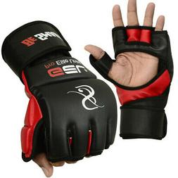 red large auth rex leather mma grappling