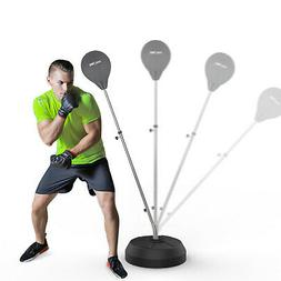 Free Standing Punching Bag With Stand Reflex Training Speed-