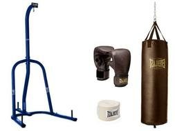 Everlast 100 lb White Heavy Bag Kit With White Single-Station Stand Value Bundle